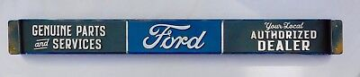 FORD Door Push Bar Genuine Parts & Service FORD Authorized Dealer Vintage Style