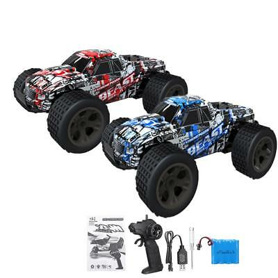 High Speed 1:20 30km/h Remote Control Red Car RC Electric Monster Truck Off Road
