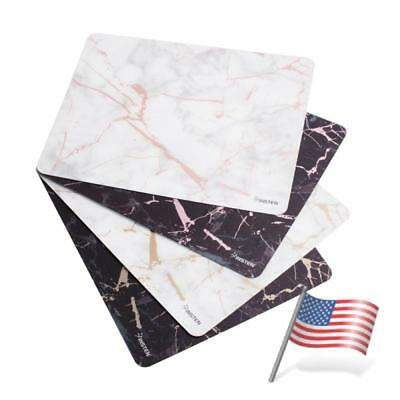 Marble Designs Non-Slip Mouse Pad Mousepad Mat For Gaming Computer PC