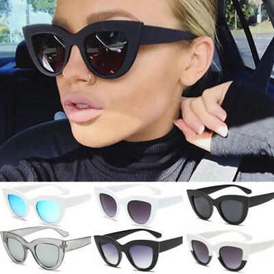 7ec30b0770 Women s Cat Eye Retro Vintage Style Rockabilly Sunglasses Eye Glasses  Summer  N