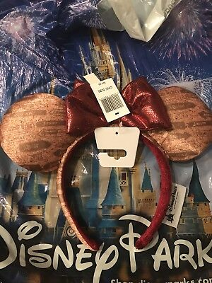 Disney Parks Epcot International Food and Wine Festival 2018 Minnie Mouse Ears