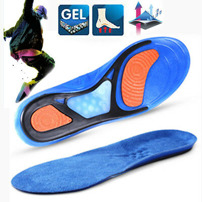 Orthotic Insoles for Arch Support Plantar Fasciitis Flat Feet Back Heel Pain HG