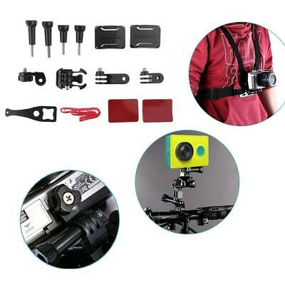 12 in 1 Action Camera Side Helmet Mount Adhesive Kit Mount Accessories for GoPro