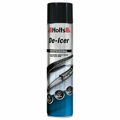 Holts Aerosol De-Icer Fast Acting Winter Snow / Frost / Ice Spray - 4 x 600ml