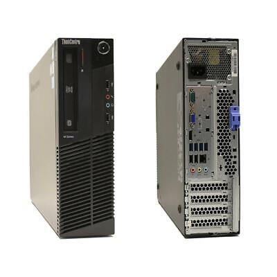 Lenovo ThinkCentre M92p Desktop PC i5-3470 CPU 4GB RAM 500GB DVD RW Win7 64Bit