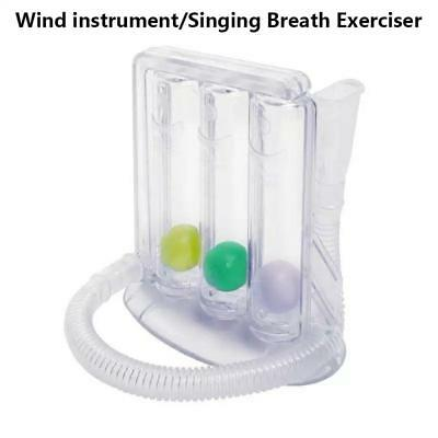 3 Ball Breathing Lung Exerciser Incentive Spirometer High Quality Breath Builder
