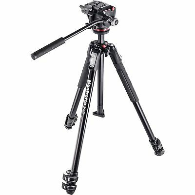 Manfrotto MK190X3 Tripod with MHXPRO Fluid Head