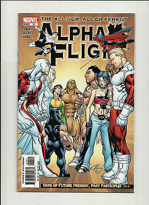 Alpha Flight #11 NM  Vol 3