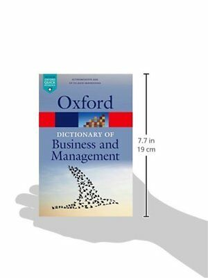 Dictionary of Business and Management New Paperback Book