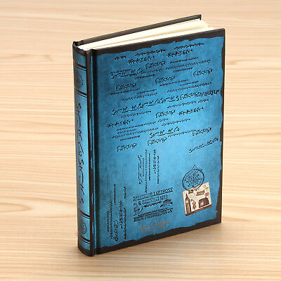 BULE - Retro Vintage Notebook Journal Diary Sketchbook Hard Cover Thick Blank