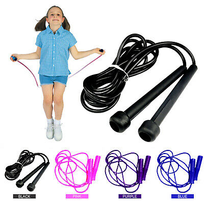 New Skipping Rope Speed Jump Exercise Boxing Gym Fitness Workout Adult Kids UK