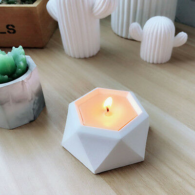 Cactus Shaped Silicone Mold Succulent Plant Flower Pot DIY Candle Holder Mould