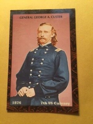 Gen. George Custer / Monarch-Corona Tobacco Card