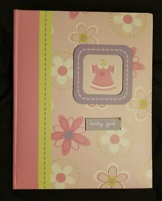 Baby's First Memory Book (Baby Book) BRAND NEW Pink from Keepsakes By Babygear