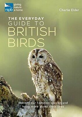 The RSPB Everyday Guide to British Birds by Charlie Elder Book The Cheap Fast