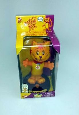 """Musical Meow Mix """"Mr. Meow"""" Bobble Head with Light up Head"""