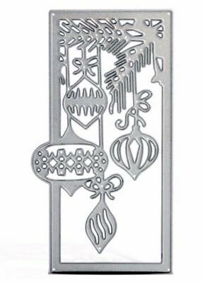 Simple Crafts Cut Emboss & Stencil Dies ~Christmas Ornament Frame