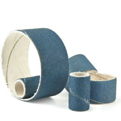 York Abrasives Gold 30x30mm Zirconium Spiral Bands P36