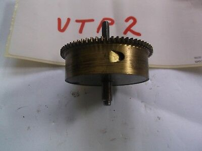 Mainspring Barrel  From An Old Small Smiths  Mantle Clock  Ref Vtp 2