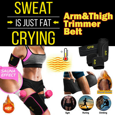 Hot Sweat Sauna Body Shaper Women Slim Vest Thermo Neoprene ARM&THIGH Trainer HG