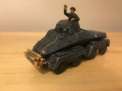 Bolt Action, 8 Rad, German, painted