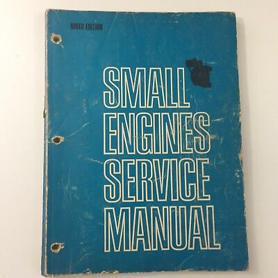 Small Engine Service Repair Manual Ninth Edition 1969 23 Different Brands