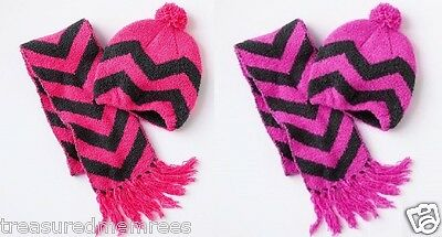 Girls' 2 Piece Hat & Scarf Winter Set ~ Pick Your Color & Size ~ NWT MSRP $26.00