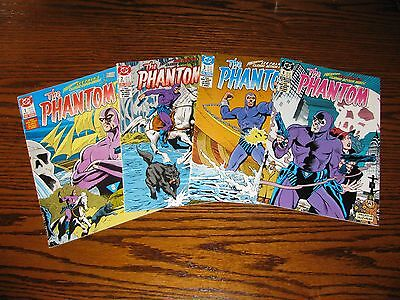 DC - THE PHANTOM 1 - 4 Complete Series!!  Glossy VF 1988