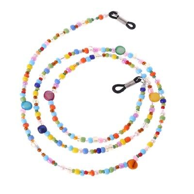 Fashion Women Colored Beaded Eyeglass Chain Reading Glasses Eyewear Cord Holder