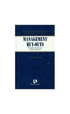 Management Buy-outs by Krieger, Ian Hardback Book The Cheap Fast Free Post