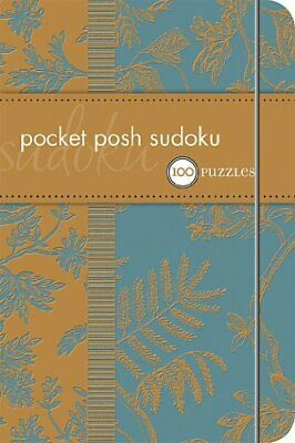 Pocket Posh Sudoku: 100 Puzzles by The Puzzle Society Paperback Book The Cheap