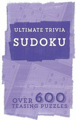 Ultimate Trivia : Sudoku by Parragon Book The Cheap Fast Free Post