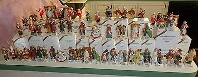 Norman Rockwell Christmas Ornaments Figurines, Dave Grossman X-MAS Collectibles