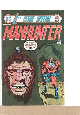 1975 DC Comics 1ST ISSUE SPECIAL #5 1975 Manhunter FN Jack Kirby
