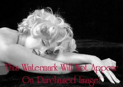 Old VINTAGE Antique Sultry MARILYN MONROE Photo Photograph Portrait Reprint