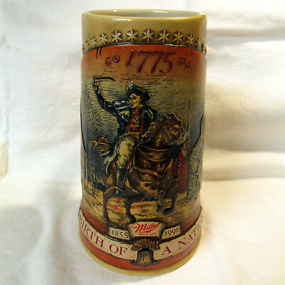 Miller High Life Beer Stein BIRTH OF A NATION EUC