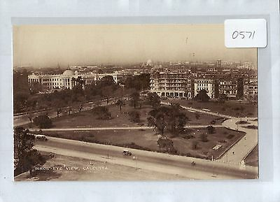 A0571cgt India Birds Eye View of Calcutta Tucks postcard