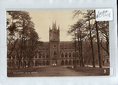 A0548cgt India High Court Calcutta Tucks Vintage postcard