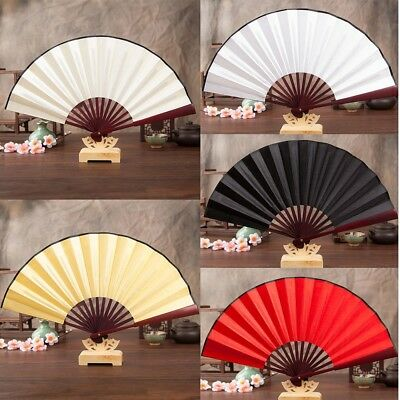 Chinese/Spanish Style Dance Wedding Party Lace Silk Folding Hand Held Fan Gift