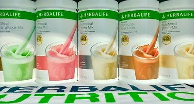 2 x Herbalife Shake  Meal Replacement Formula 1       New Aussie Stock