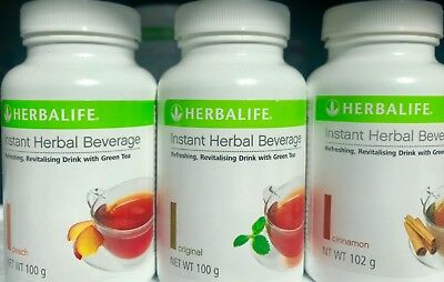 2 x Herbalife Instant Herbal Beverage Tea       New Aussie Stock