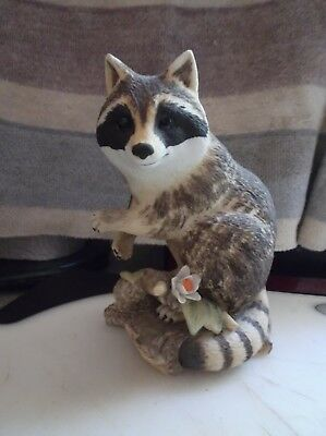 Vintage Lefton China Raccoon  #01839