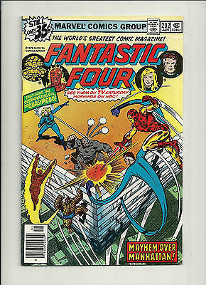 Fantastic Four  #202 NM High Grade