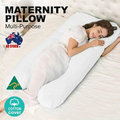 Pregnancy Support Pillow Contoured Full Body Nursing Maternity Sleeping Cushion