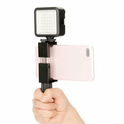 Mini Camera LED Video Light Photography Fill Video Light With 3 Hot Shoe Mount