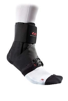 Mc David Ankle Support Brace with Strap for Adults - Lightweight - Black - M -