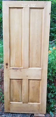 "32"" x 80"" Pine farm house style door"