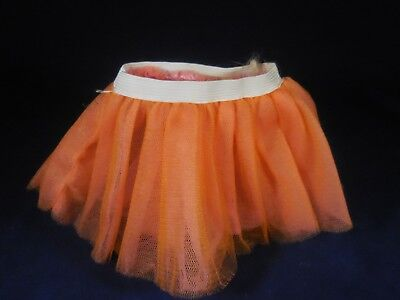 NEW Authentic American Girl Doll Ballet Tutu  ---  PALE ORANGE