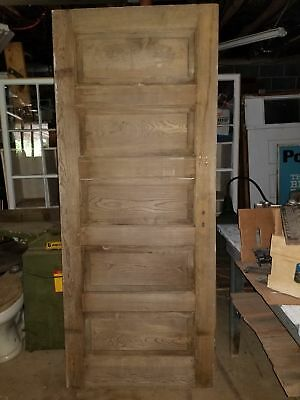 "32"" x 78"" Pine 5 raised panel door"