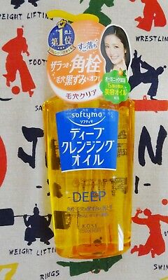 new KOSE Softymo Deep Cleansing Oil Plug Removal Pores Clear 230 ml JAPAN F/S